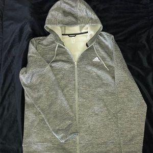 Adidas zip-up hoodie